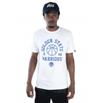 Camiseta NBA Golden State Warriors Branca New Era (4x SEM JUROS)